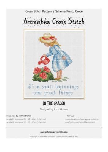 In the Garden cross stitch chart by Artmishka Cross Stitch